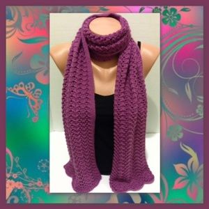 Purple Nordstrom Scarf